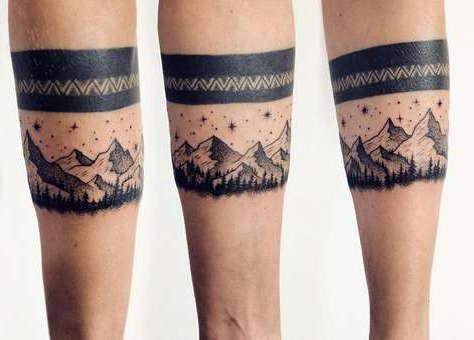 Tetovaže Za Muškarce Na Prugama Za Ruke Narukvice Za